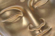 Golden Budha Face